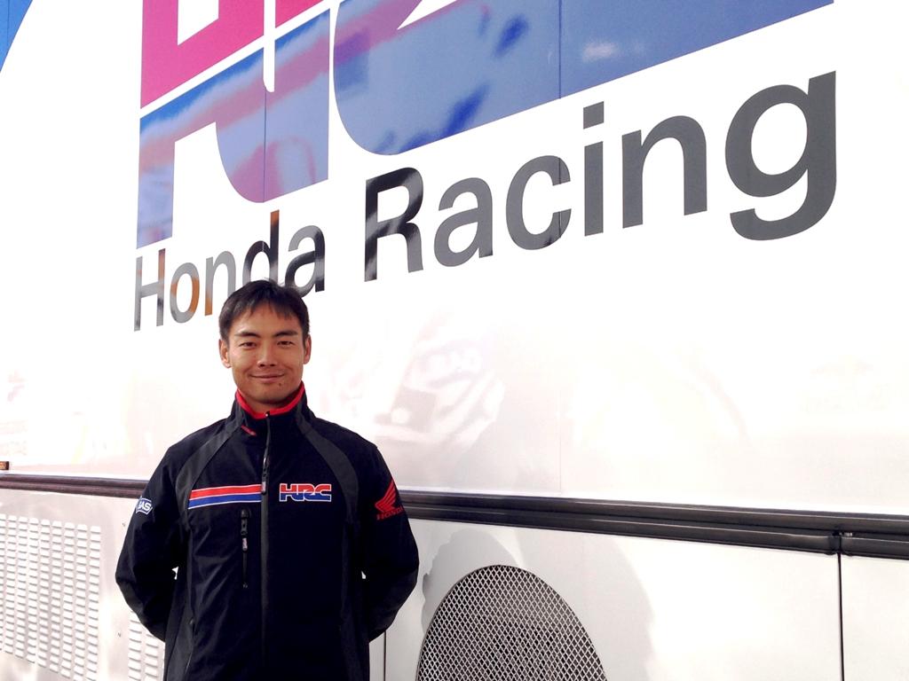 Hiro Aoyama collaudatore HRC dal 2015