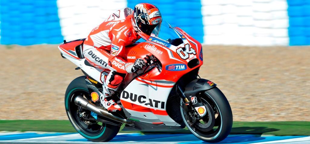 MotoGP test Jerez novembre 2014, Andrea Dovizioso è stato il più veloce