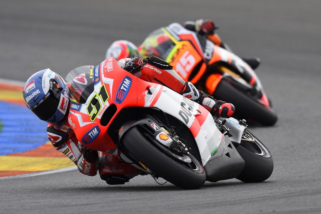 MotoGP Valencia 2014, Michele Pirro, nono al traguardo