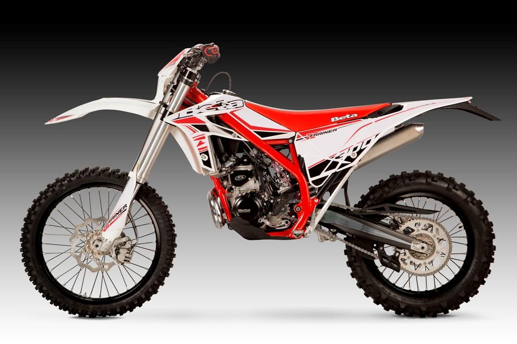 Compatta e leggera, la Xtrainer Beta 300 è la moto giusta per divertirsi