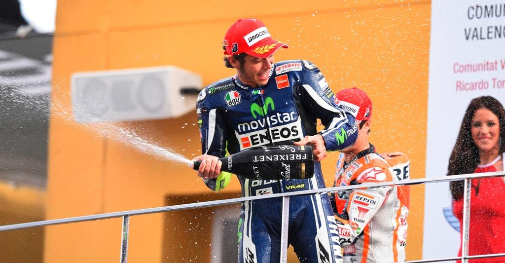 MotoGP 2104, Valencia: Valentino Rossi, splendido fine campionato per lui