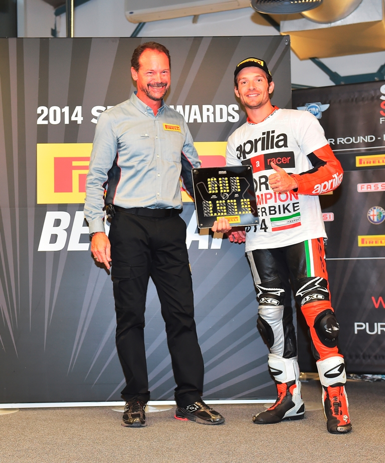 Pirelli 2014, SBK, Barbier/Pirelli-Guintoli/Aprilia
