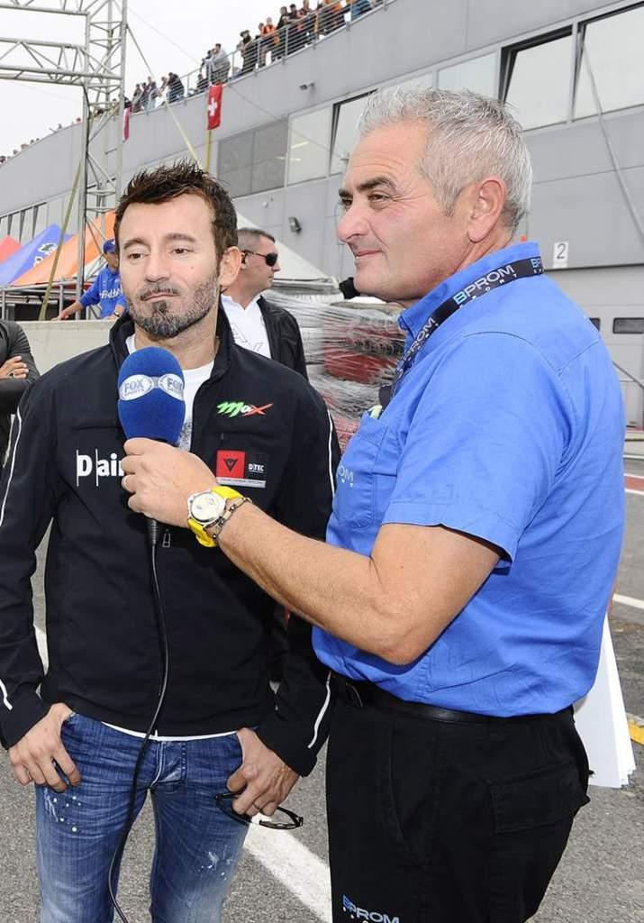 SIC Day 2014: Max Biaggi e Federico Capogna