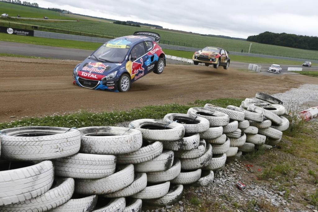 RX 2105, IMG Motorsport, Rallycross è solo spettacolo puro