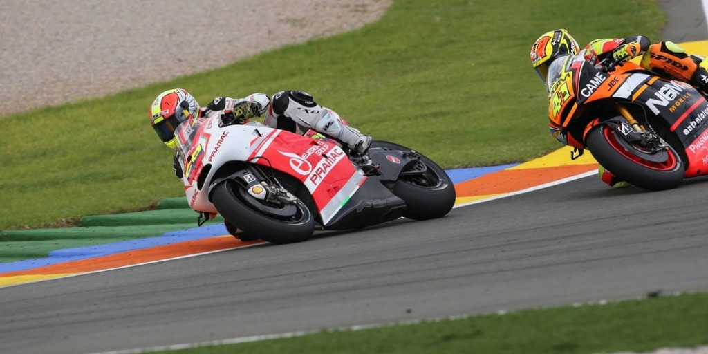 MotoGP Valencia 2014, Yonny Hernandez Pramac Team