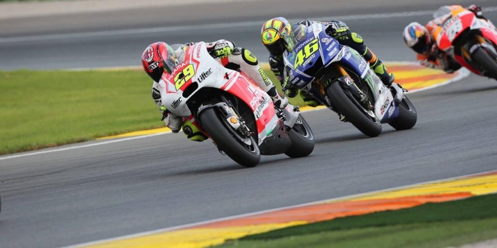 MotoGP 2014, Valencia, Andrea Iannone partiva dalla seconda posizione