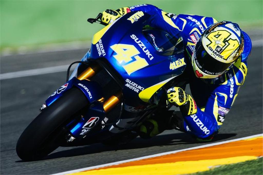 MotoGP test Suzuki Valencia, Aleix Espargaro