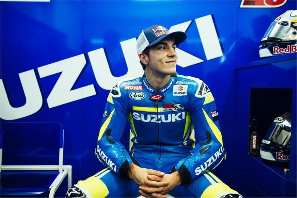 Moto GP Valencia, il neo acquisto Suzuki Maverick Vinales