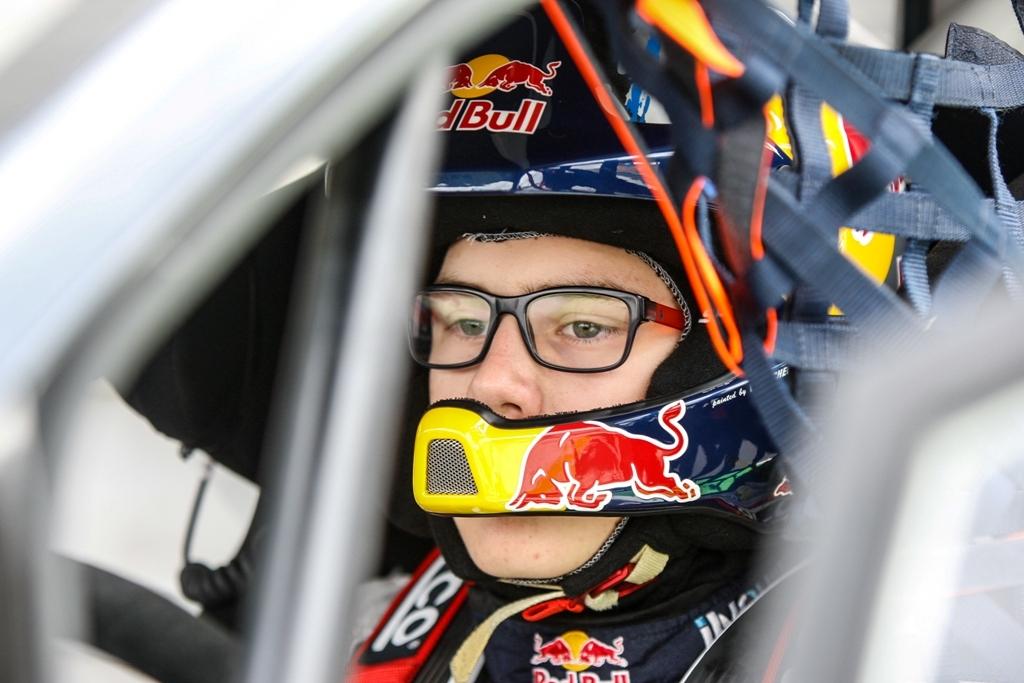 FIA RX 2014, Hansen, pilota diciottenne e nuova stella del Mondiale RX