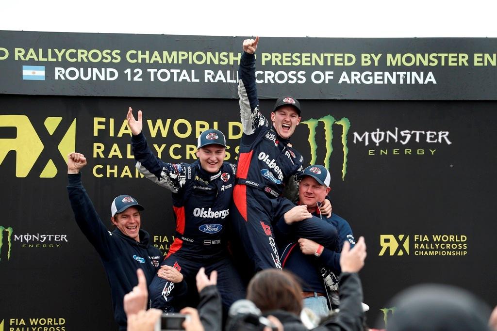 FIA RX, podio Argentina 2014