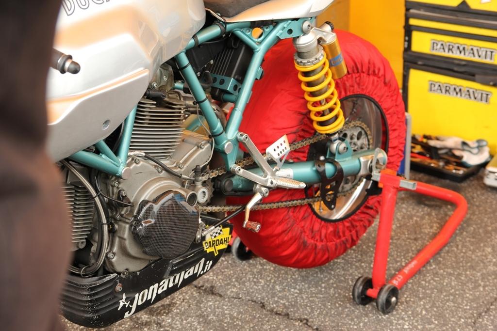La bella Paul Smart Ducati di Arioni Sr