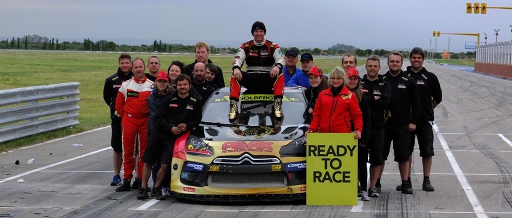 FIA Rallycross 2014,Argentina