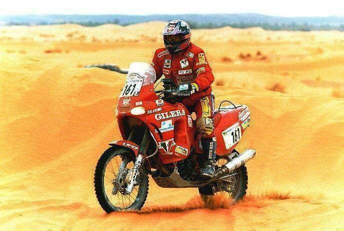 Gilera RC750 Paris Dakar, altra creatura di Martini