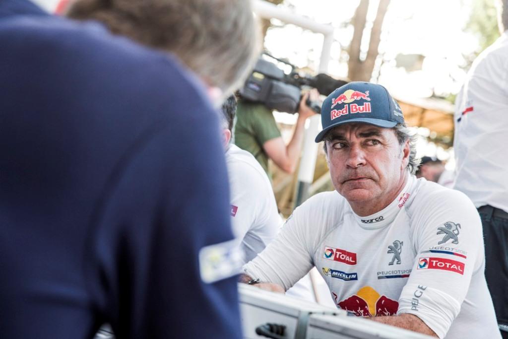 Dakar 2015: Carlos Sainz 2015, non troppo soddisfatto della scelta 2x2?