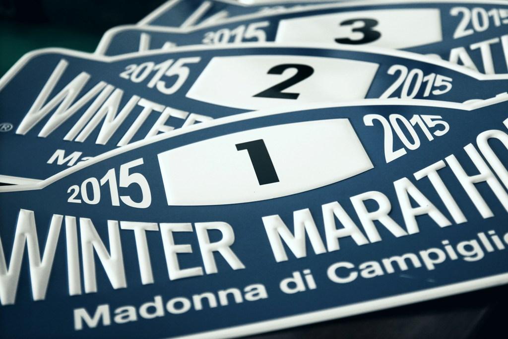 Il logo della Winter Marathon 2015