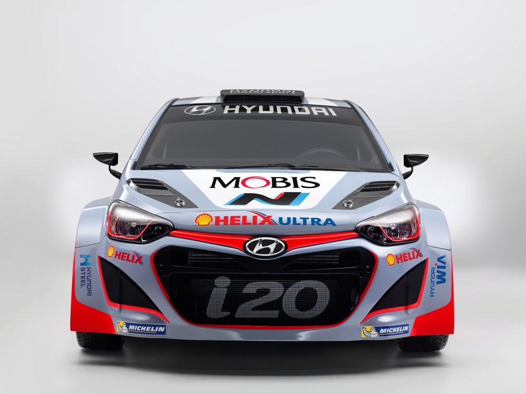 WRC 2015, la i20 WRC è sostanzialmente simile al 2014, upgrade in corso di stagione