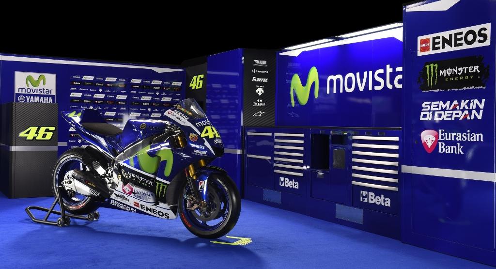 MotoGP 2015, La nuova livrea Yamaha 2015 delle M1 Yamaha