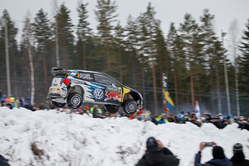 WRC 2015, Svezia, Ogier ha combattuto sempre con Mkkelsen e Neuville