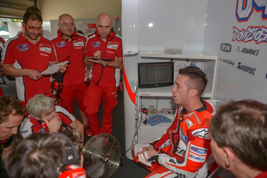 Test Sepang2, Andrea Dovizioso, Ducati MotoGP GP15