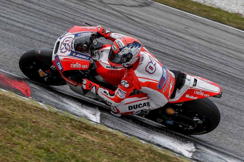 MotoGP 2015, test Sepang2, Andrea Dovizioso, GP15