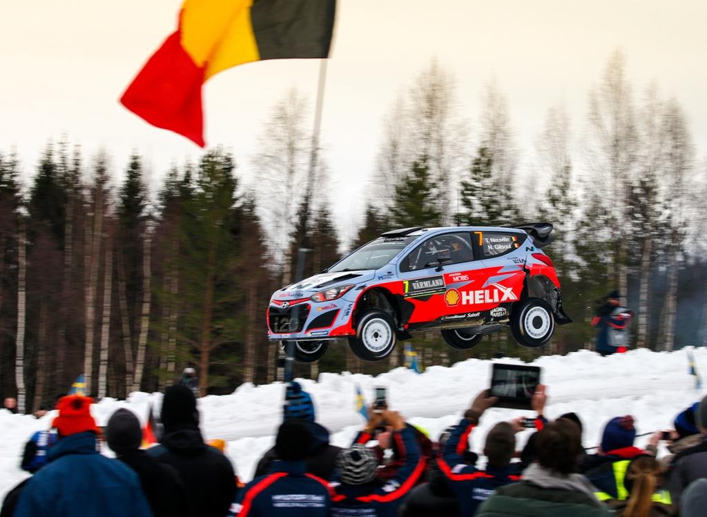 WRC 2015, Svezia, grande progressione per Hyundai