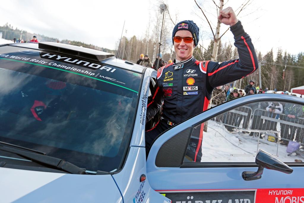 WRC 2015, Svezia, Neuville bel secondo posto per Hyundai