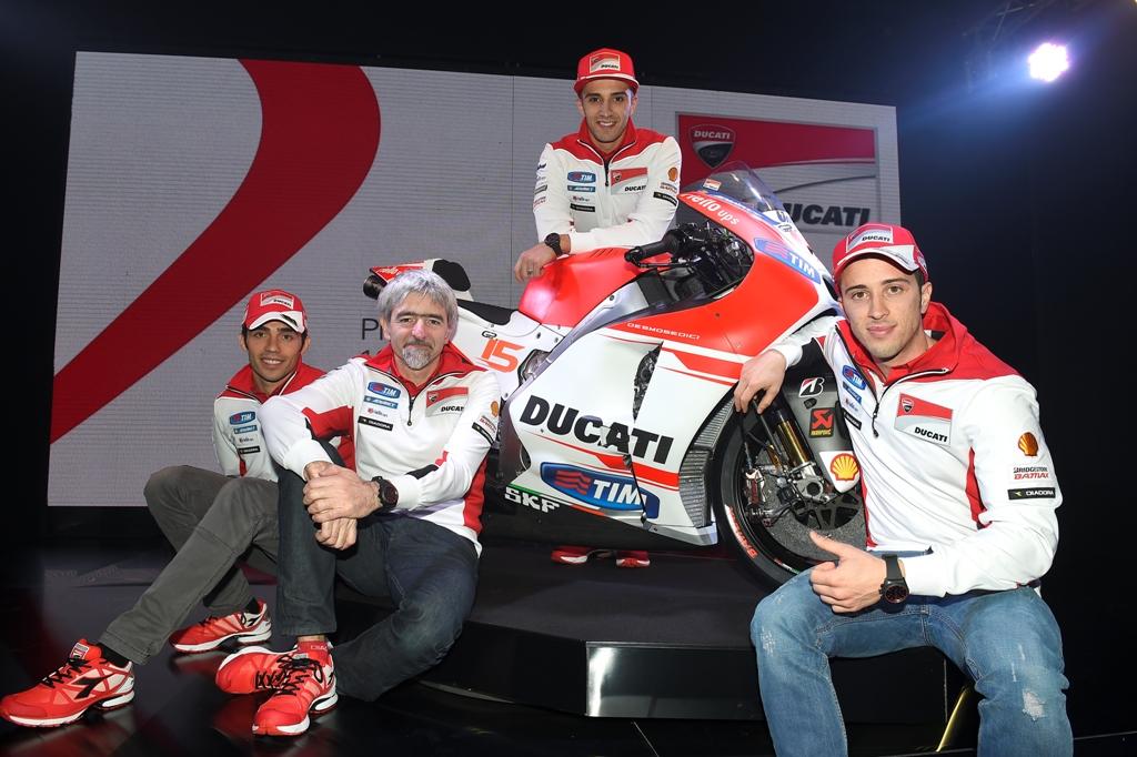 MotoGP 2015, Ducati, Dovizioso, Iannone, Ing. Dall'Igna