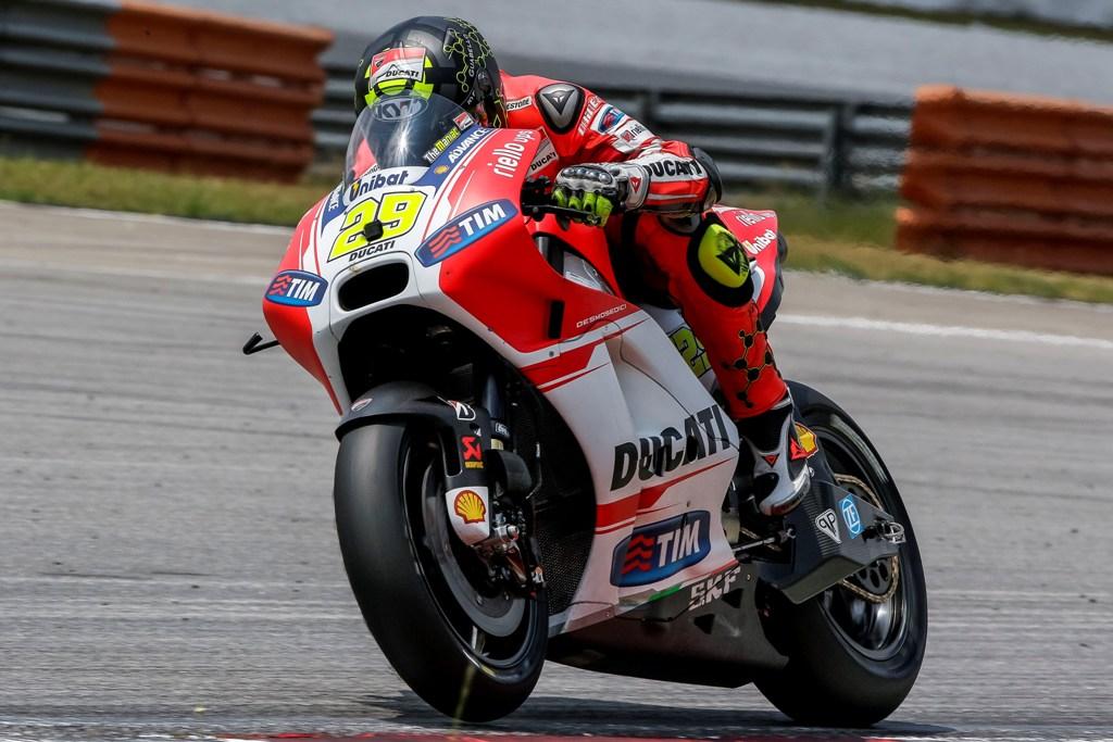 MotoGP 2015, Andrea Iannone a Sepang2, Ducati GP15