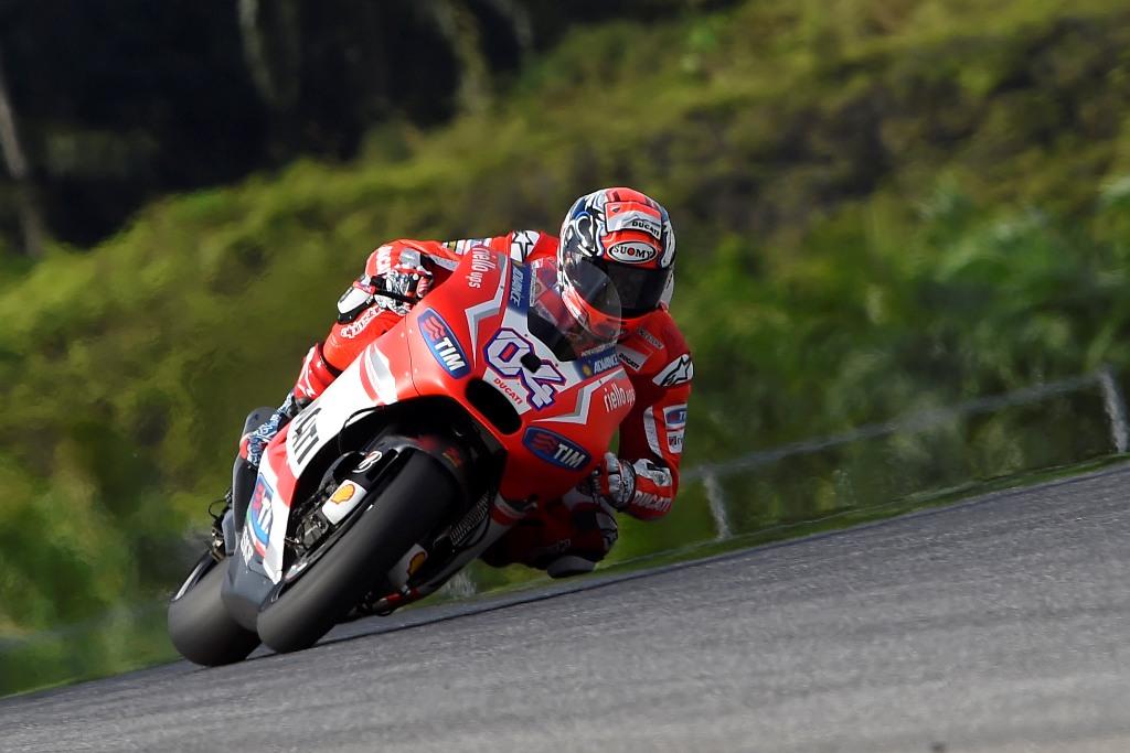 MotoGP Andrea Dovizioso a Sepang, secondo tempo nel day two