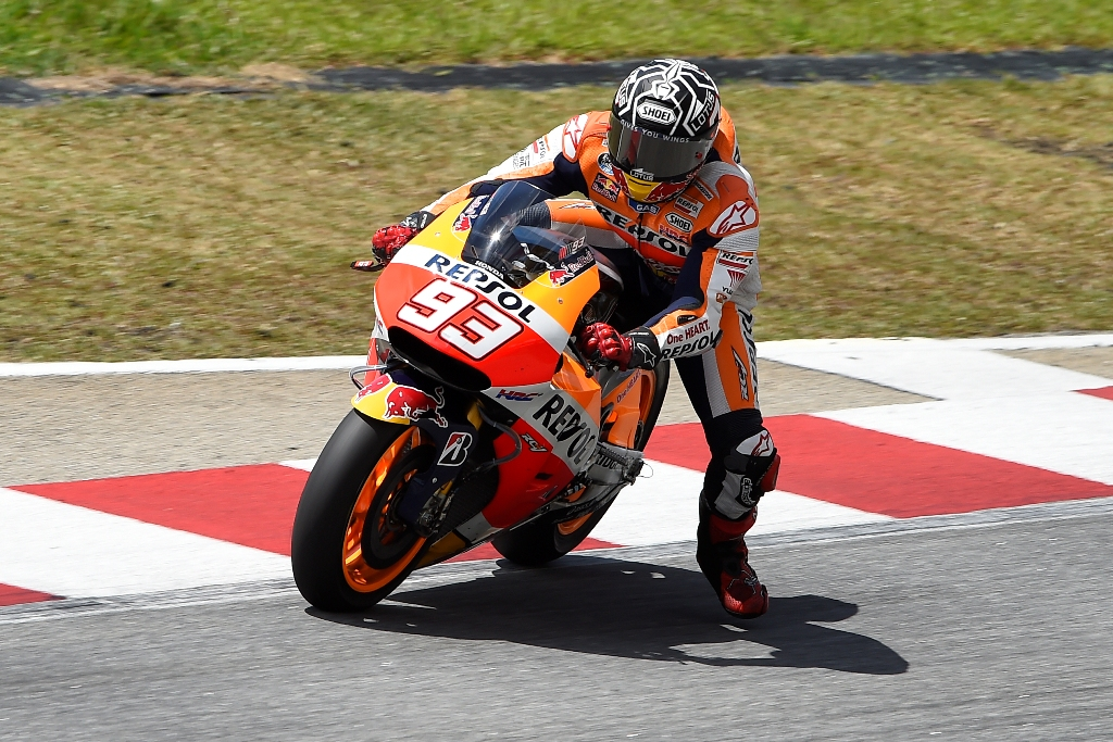 MotoGP 2015, test Sepang, Marc Marquez terzo a fine giornata