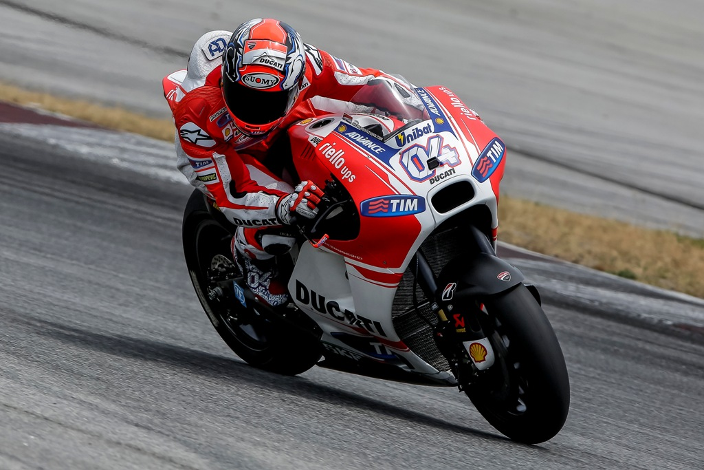 MotoGP 2015, Sepang2, Andrea Dovizioso, 4° tempo a fine day 2