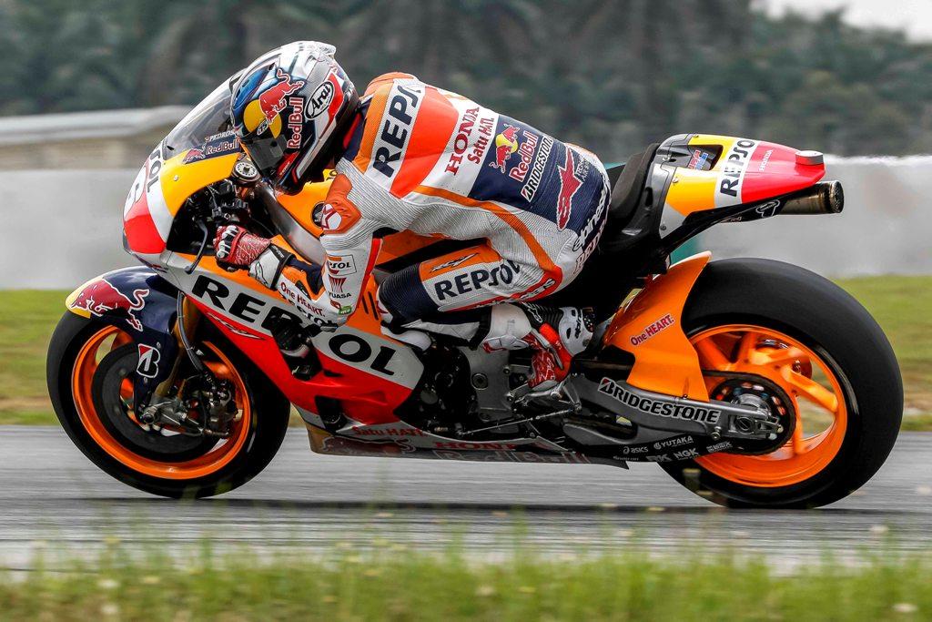 MotoGP 2015, test Sepang 2, Honda, Dani Pedrosa