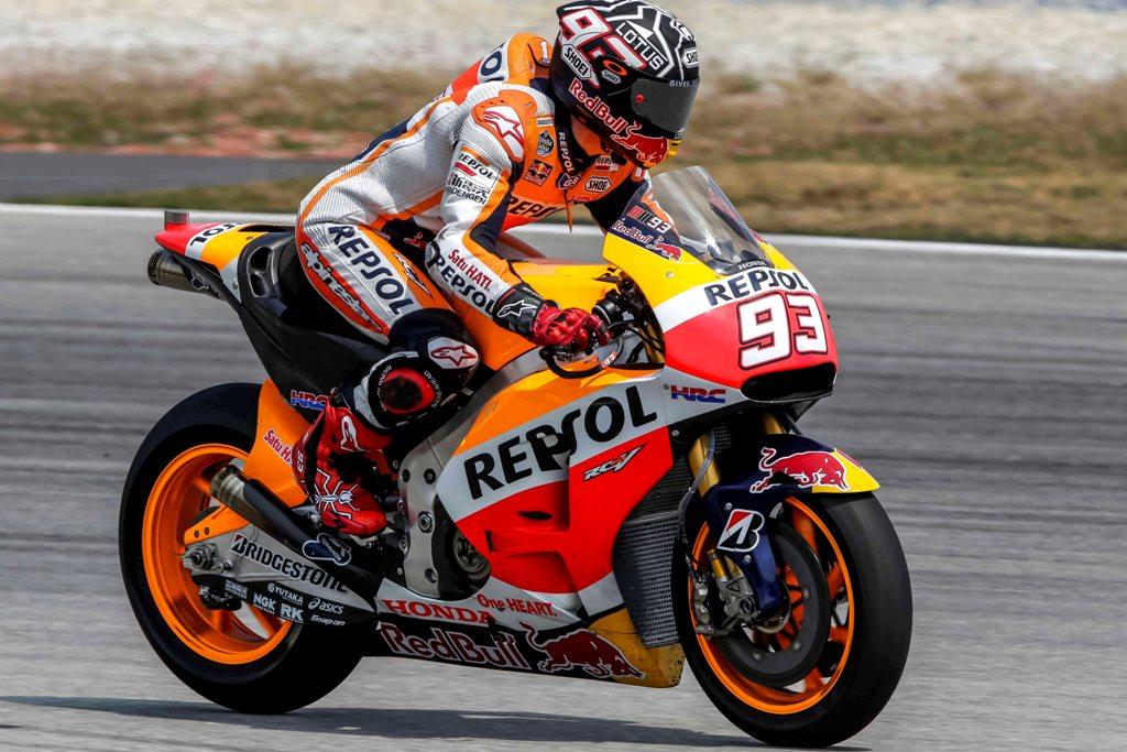 MotoGP 2015, test Sepang 2, Marc Marquez