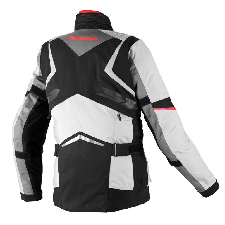 Il retro della nuova giacca Spidi X-TOUR