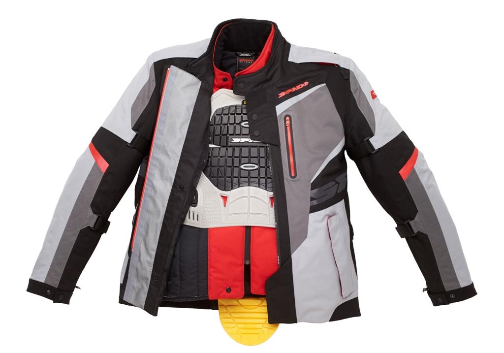 L'interno della giacca Spidi X-TOUR D