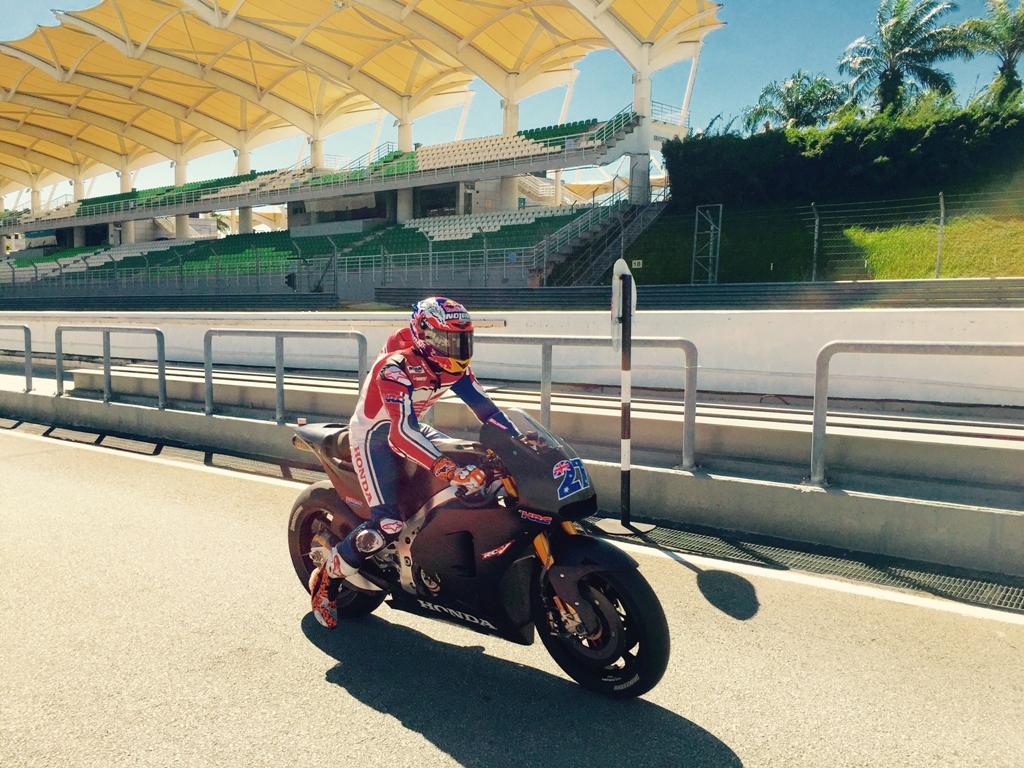 MotoGP test 2015, Stoner a Sepang