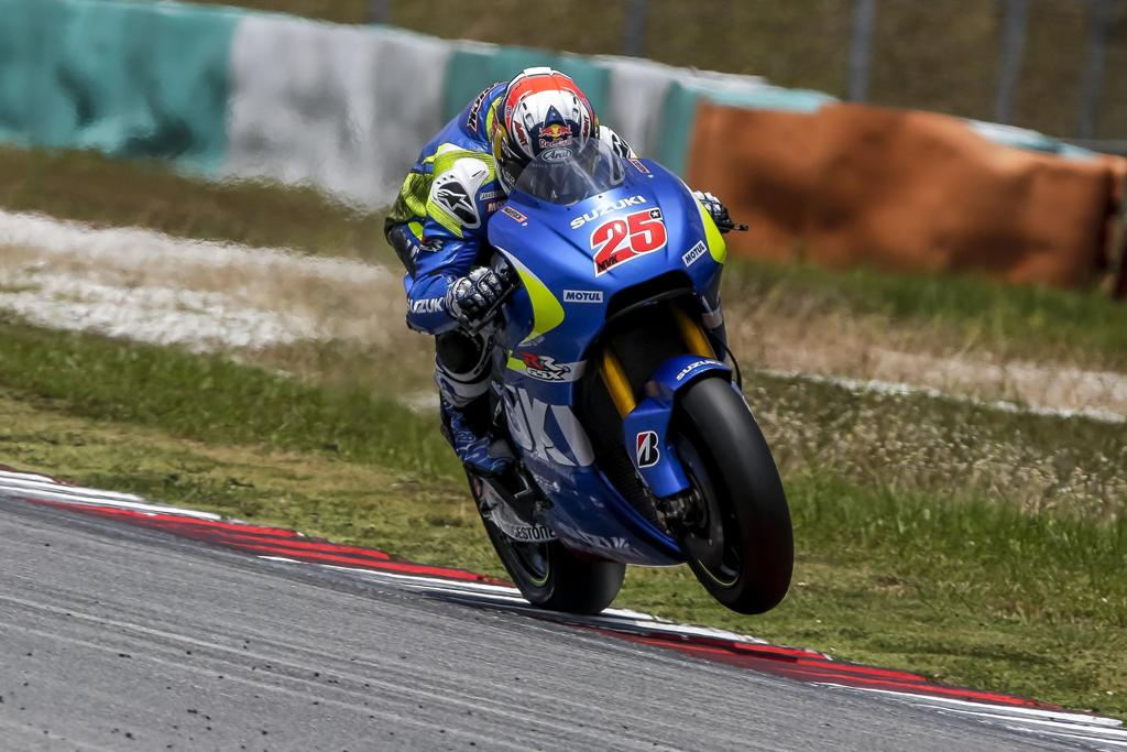 MotoGP 2015, Maverick Vinales- Suzuki, ottimi progressi per il rookie della MotoGP