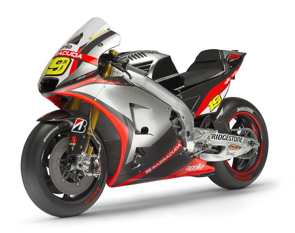 MotoGP 2015, Aprilia MotoGP, anno di sviluppo questo per la RS-GP