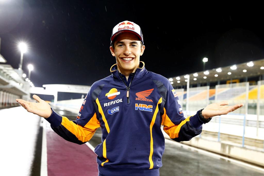 MotoGP 2015, test Qatar day3, Marquez, l'uomo da battere anche nel 2015