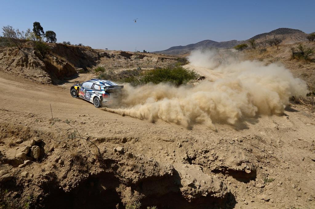 WRC 2015, un passaggio di Mikkelsen, terzo sul podo messicano