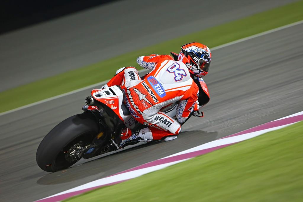MotoGP test Losail 2015, marzo, Andrea Dovizioso, 1° tempo giorno due
