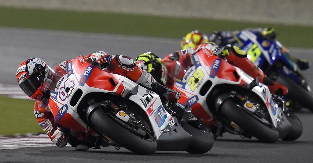 MotoGP 2015, Qatar, Andrea Dovizioso, GP15 e Andrea Iannone