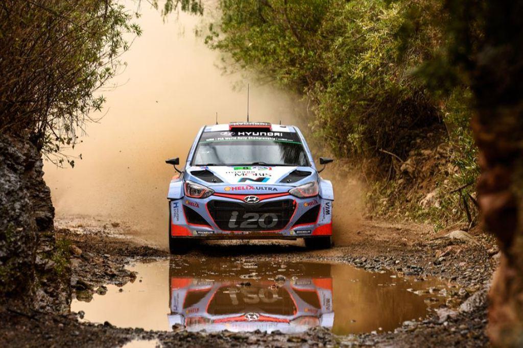 WRC 2015, Dani Sordo, 5° nel Rally del Messico sulla i20 WRC