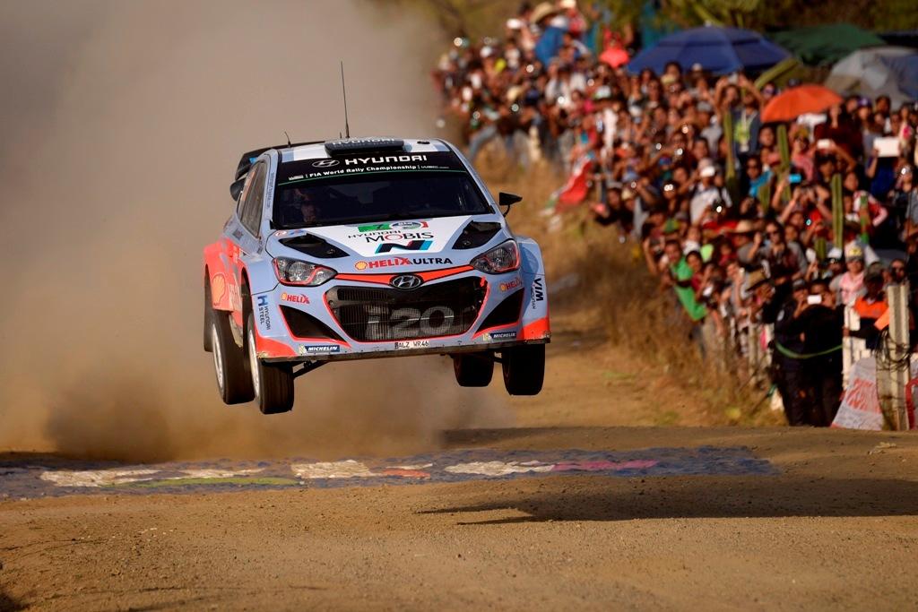 WRC 2015, Neuville/Hyundai i20 WRC, 8° in Messico
