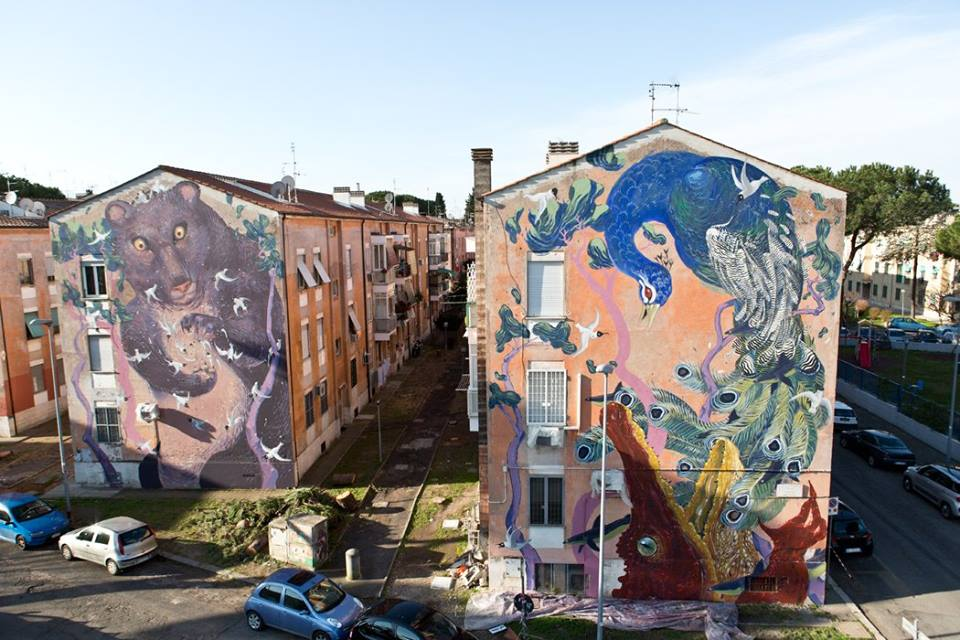 Street Art a Roma, Hitnes del progetto SanBa