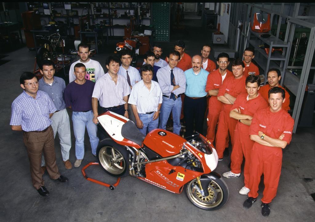 Franco Farnè e Ducati, ben 101 vittorie in SBK