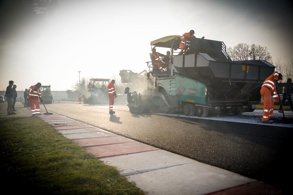 Misano World Circuit: lavori in corso con nuovo asfalto e nuove vie di fuga