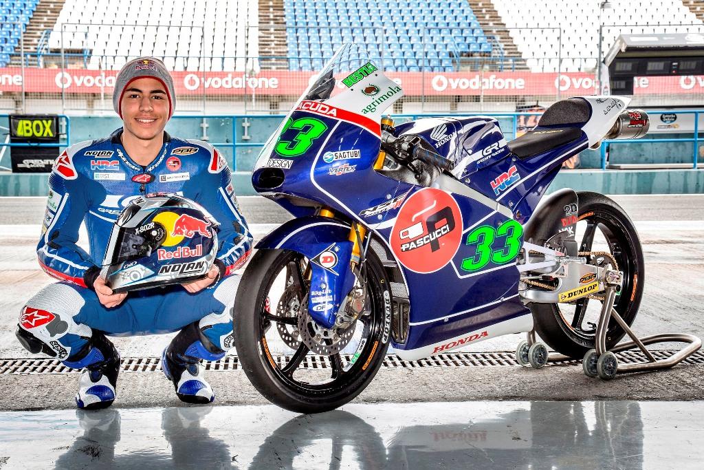 Moto3 2015, Enea Bastianini, Gresini