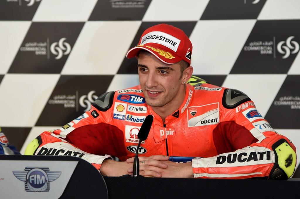 Qatar 2015, MotoGP, Andrea Iannone, terzo posto a Losail