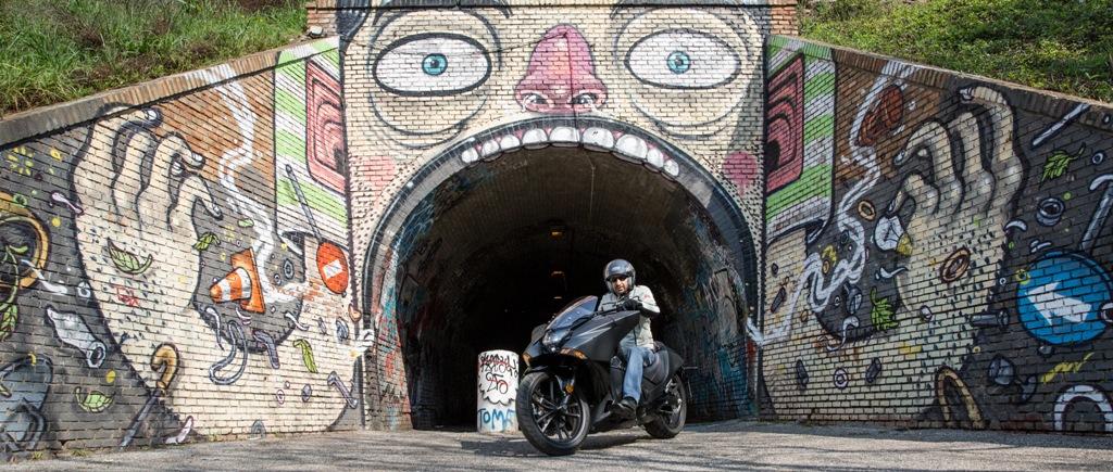 Altra opera della Street Art nella zona del Quadraro, progetto MURo
